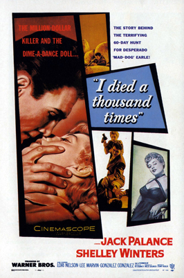 I Died a Thousand Times - 11 x 17 Movie Poster - Style C