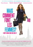 I Don't Know How She Does It - 11 x 17 Movie Poster - French Style A