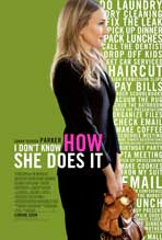 I Don't Know How She Does It - 27 x 40 Movie Poster - Style B