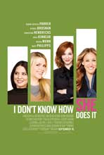 I Don't Know How She Does It - 11 x 17 Movie Poster - Style C