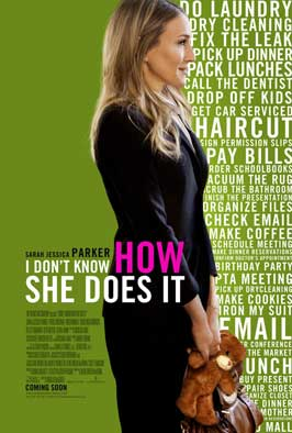 I Don't Know How She Does It - 11 x 17 Movie Poster - Style B