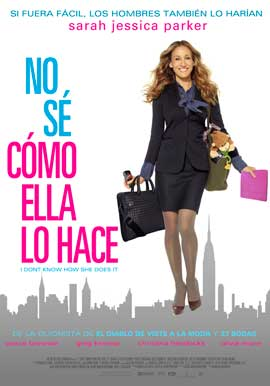 I Don't Know How She Does It - 43 x 62 Movie Poster - Peruvian Style A