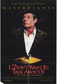 I Don't Want to Talk About It - 27 x 40 Movie Poster - Style A