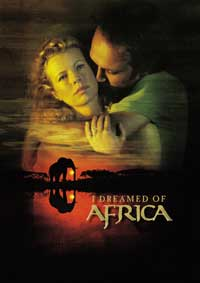 I Dreamed of Africa - 43 x 62 Movie Poster - Bus Shelter Style A