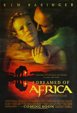 I Dreamed of Africa - 27 x 40 Movie Poster - Style C