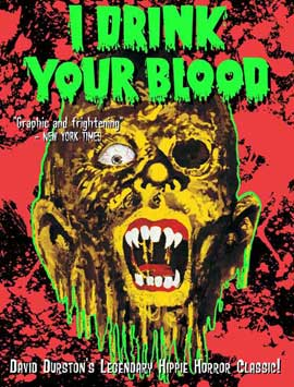 I Drink Your Blood - 11 x 17 Movie Poster - Style B