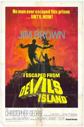I Escaped from Devils Island - 11 x 17 Movie Poster - Style B