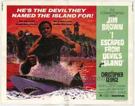 I Escaped from Devils Island - 11 x 14 Movie Poster - Style I