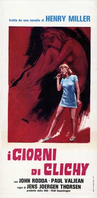 i giorni di clichy - 13 x 28 Movie Poster - Italian Style A