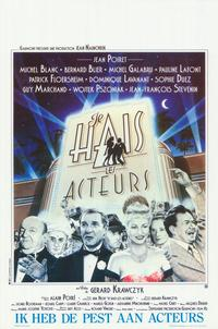 I Hate Actors - 27 x 40 Movie Poster - Belgian Style A