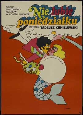 I Hate Mondays - 11 x 17 Movie Poster - Polish Style A