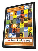 I Heart Huckabees - 27 x 40 Movie Poster - Style A - in Deluxe Wood Frame