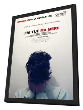 I Killed My Mother - 11 x 17 Movie Poster - French Style A - in Deluxe Wood Frame