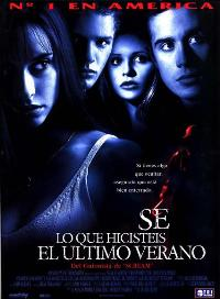 I Know What You Did Last Summer - 27 x 40 Movie Poster - Spanish Style A