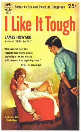 I Like It Tough - 11 x 17 Retro Book Cover Poster