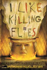 I Like Killing Flies - 43 x 62 Movie Poster - Bus Shelter Style A