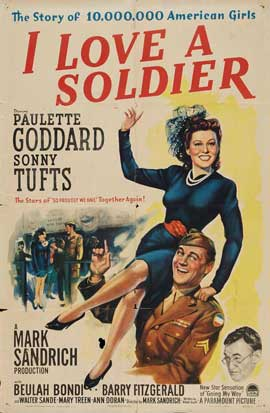 I Love a Soldier - 27 x 40 Movie Poster - Style A