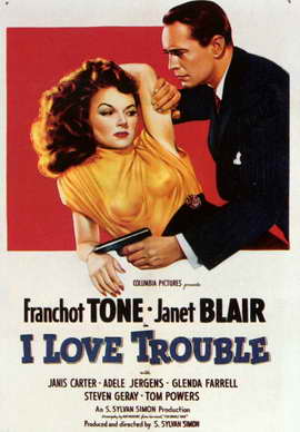I Love Trouble - 11 x 17 Movie Poster - Style A