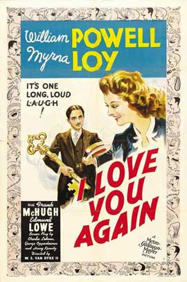 I Love You Again - 27 x 40 Movie Poster - Style B