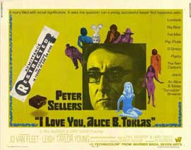 I Love You, Alice B. Toklas! - 11 x 14 Movie Poster - Style D