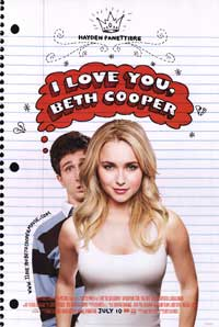 I Love You, Beth Cooper - 27 x 40 Movie Poster - Style A