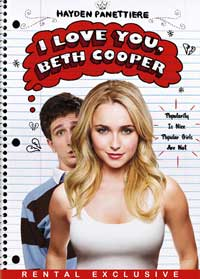I Love You, Beth Cooper - 27 x 40 Movie Poster - Style B