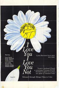 I Love You, I Love You Not - 11 x 17 Movie Poster - Style A