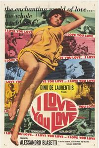 I Love You Love - 11 x 17 Movie Poster - Style A
