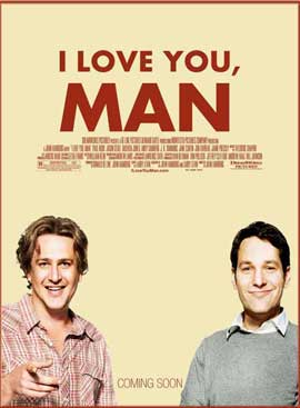 I Love You, Man - 11 x 17 Movie Poster - Style A