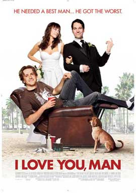 I Love You, Man - 11 x 17 Movie Poster - Style H