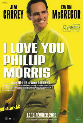 I Love You Phillip Morris - 27 x 40 Movie Poster - French Style A