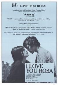 I Love You Rosa - 11 x 17 Movie Poster - Style A