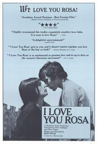I Love You Rosa - 27 x 40 Movie Poster - Style A