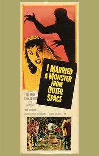 I Married A Monster From Outer Space - 11 x 17 Movie Poster - Style B