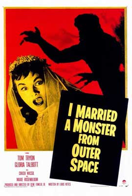 I Married A Monster From Outer Space - 27 x 40 Movie Poster - Style A