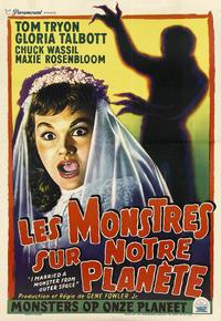 I Married A Monster From Outer Space - 11 x 17 Movie Poster - French Style C
