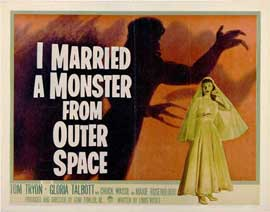 I Married A Monster From Outer Space - 11 x 14 Movie Poster - Style B