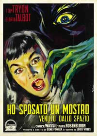 I Married A Monster From Outer Space - 27 x 40 Movie Poster - Italian Style A