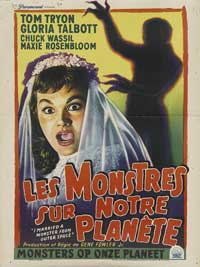 I Married A Monster From Outer Space - 11 x 17 Movie Poster - Belgian Style A