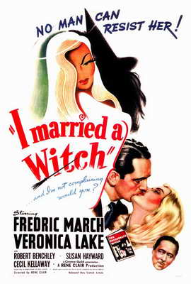 I Married a Witch - 27 x 40 Movie Poster - Style A