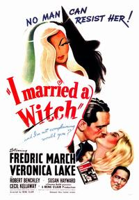 I Married a Witch - 43 x 62 Movie Poster - Bus Shelter Style A