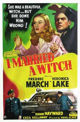 I Married a Witch - 11 x 17 Movie Poster - Style C