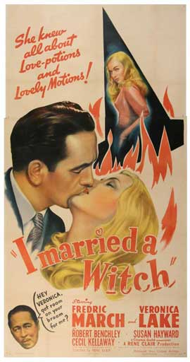 I Married a Witch - 11 x 17 Movie Poster - Style D