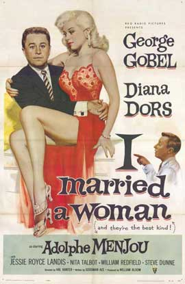 I Married a Woman - 11 x 17 Movie Poster - Style A
