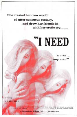 I Need a Man - 27 x 40 Movie Poster - Style A