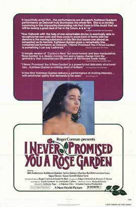 I Never Promised You a Rose Garden - 11 x 17 Movie Poster - Style A