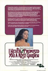 I Never Promised You a Rose Garden - 27 x 40 Movie Poster - Style A