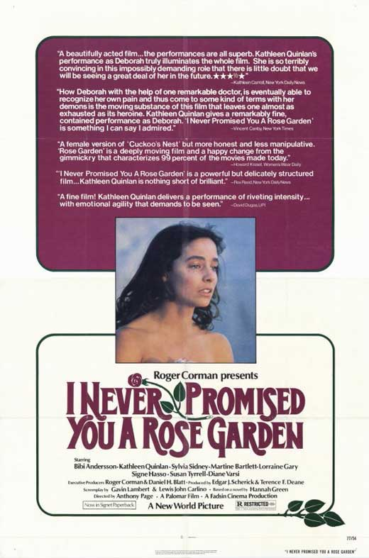 I never promised you a rose garden movie posters from - Never promised you a rose garden ...