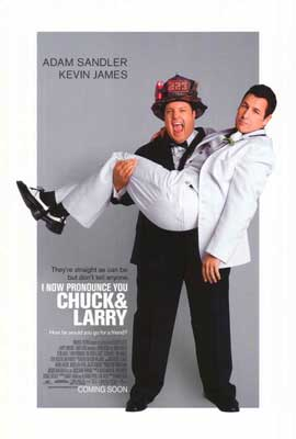 I Now Pronounce You Chuck and Larry - 27 x 40 Movie Poster - Style A