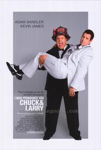 I Now Pronounce You Chuck and Larry - 43 x 62 Movie Poster - Bus Shelter Style A